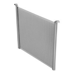 ELFA przegroda do kosza Mesh 40 platinium - 180mm